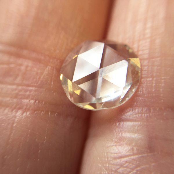 round rose cut diamond