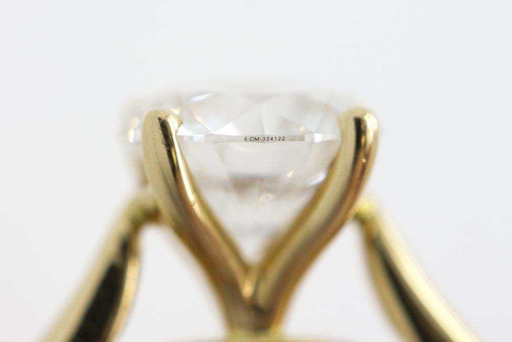 canada mark diamond inscription