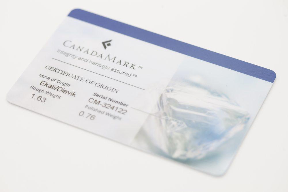 canada mark card