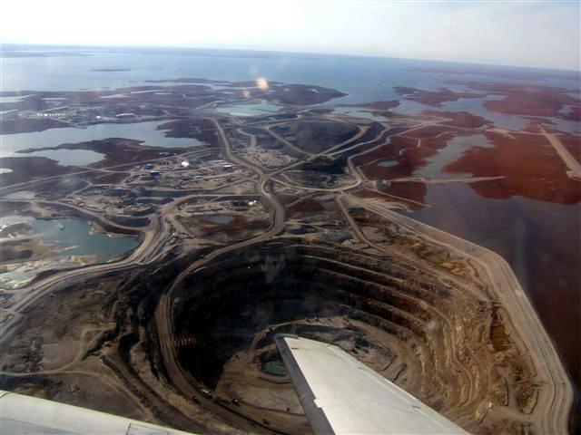 diavik diamond mine canada