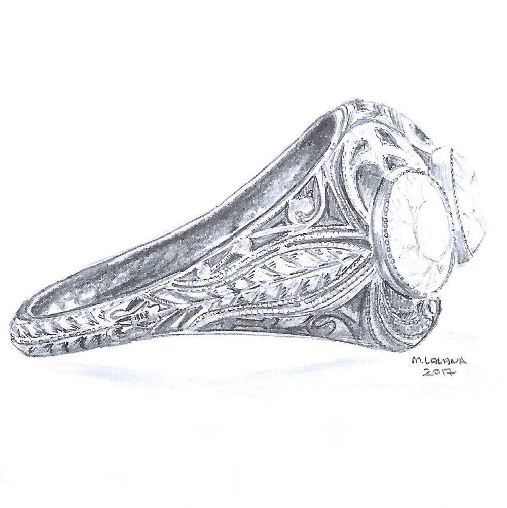 edwardian ring design