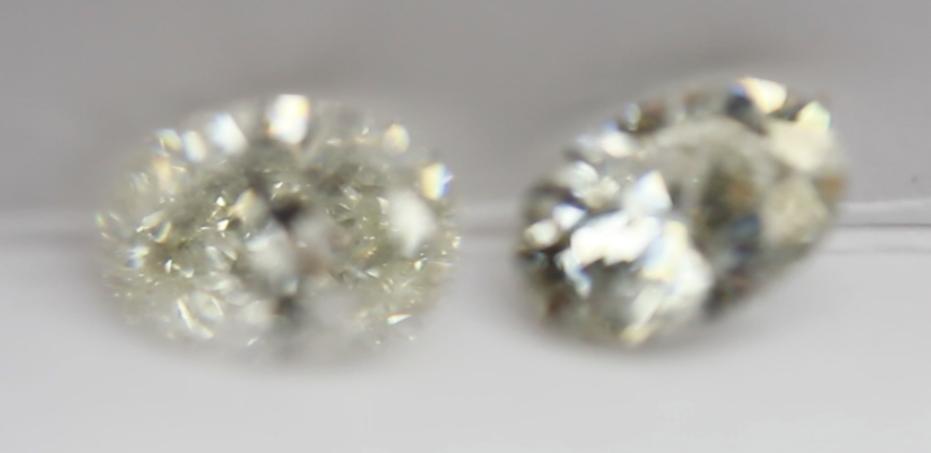 Diamond vs moissanite brilliance