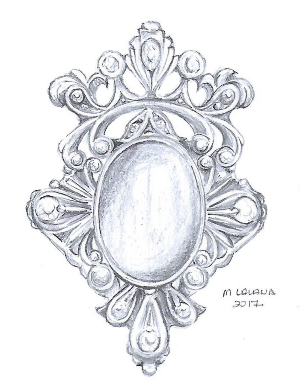 mid victorian engagement ring design