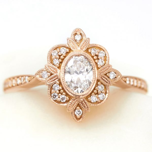 Rose Gold Engagement Rings Taylor Hart
