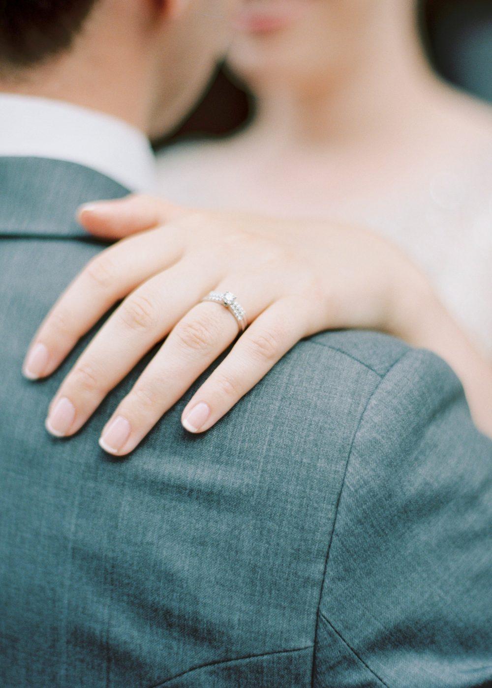 customer love story wedding rings
