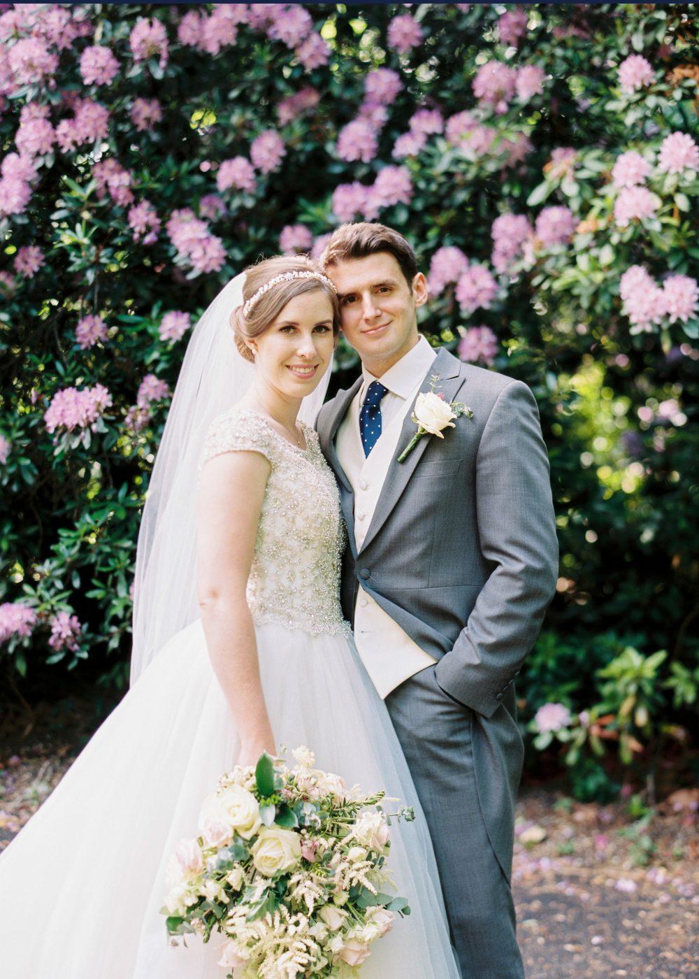 customer love story wedding day