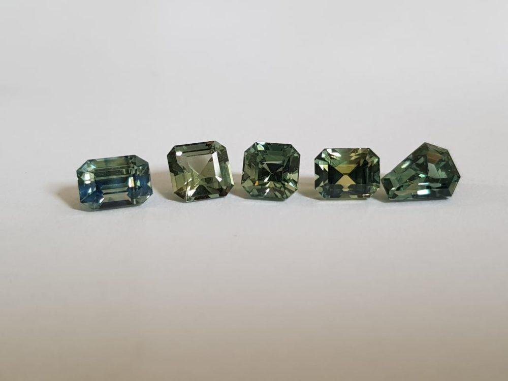 blue green sapphire