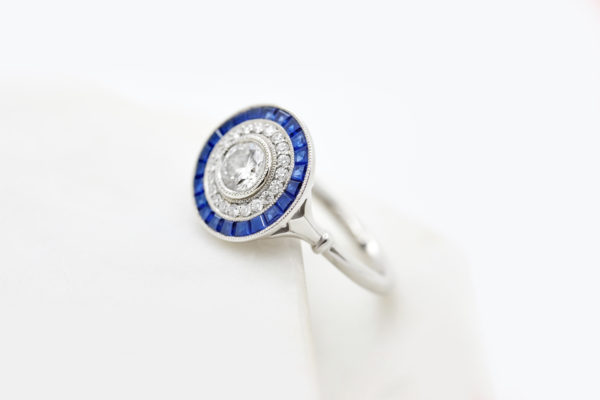 lab-grown-diamond-engagement-ring-blue-sapphire-custom-cut-halo