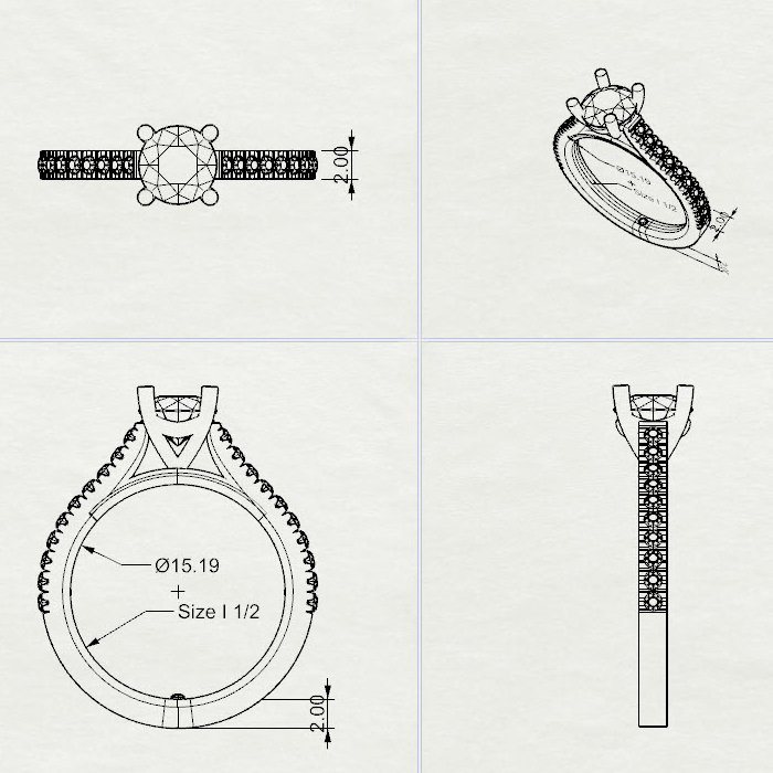Nikki-Christie ring sketch
