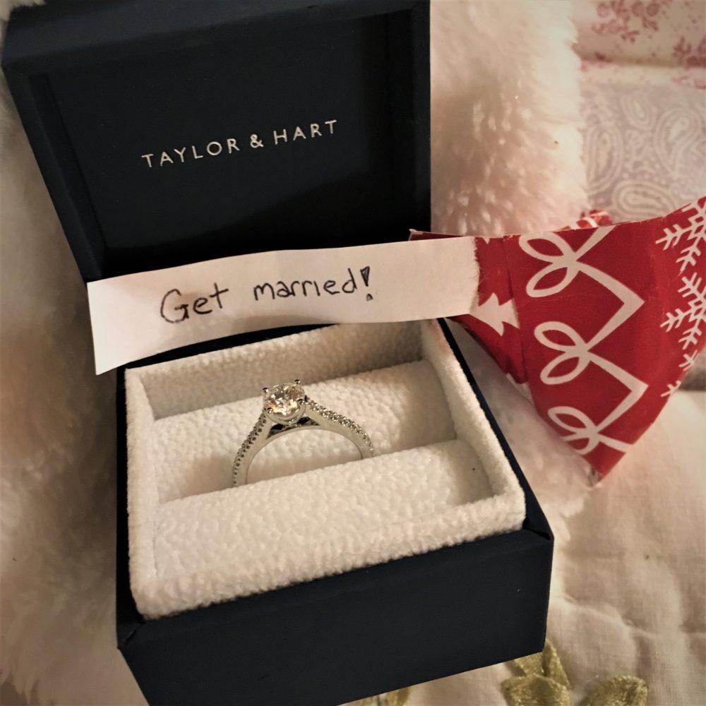Taylor & Hart, Customer love stories, happy customers, bespoke rings