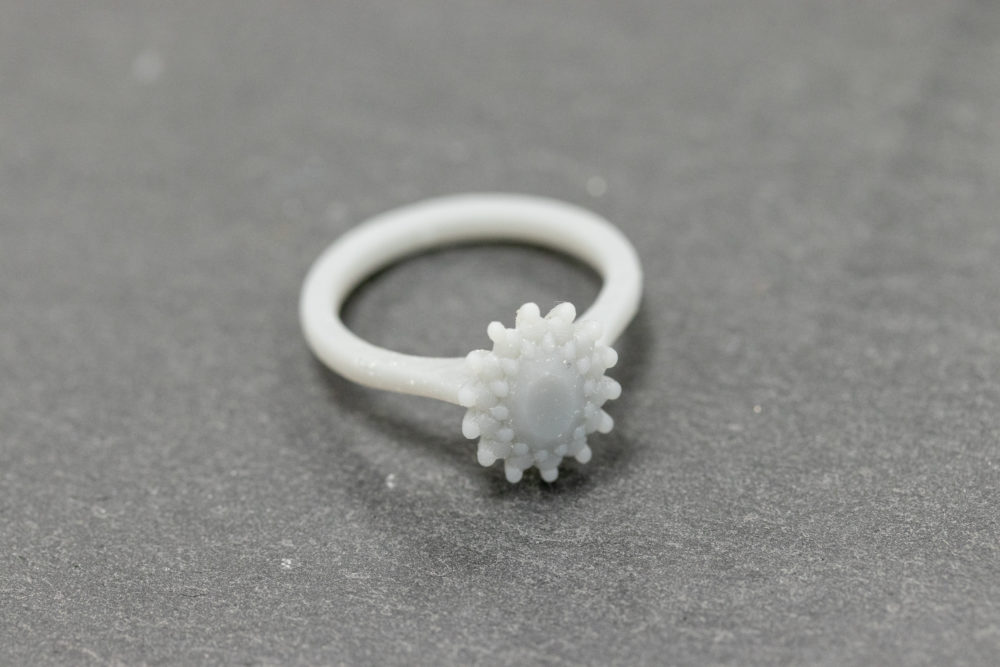 3D printing, Bespoke engagement ring, Taylor and Hart