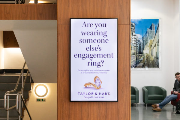 Taylor and Hart Office Advert campaign