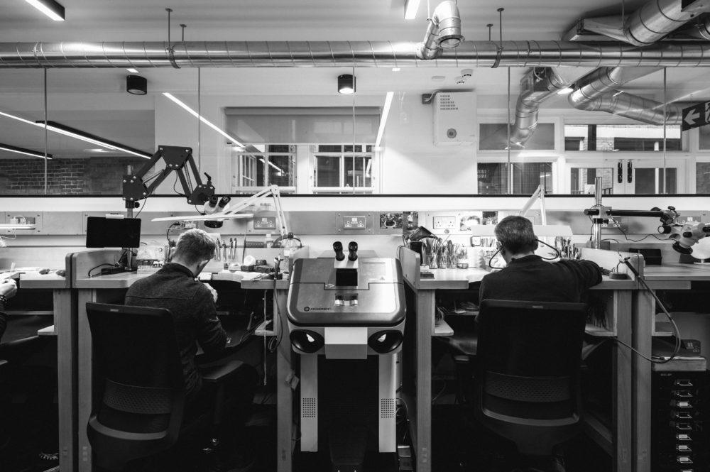Chancery Lane taylor and hart workshop london