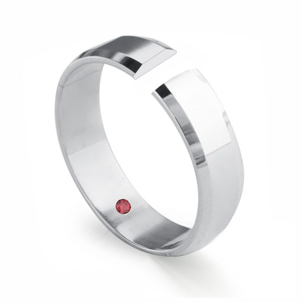 bevel shape ring profile